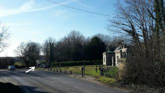 Photo of Wixenford junction at Stag Lodge, Saltram House, Plymouth