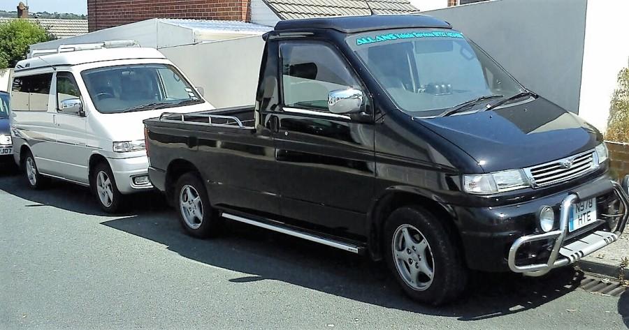 mazda e2200 rear axle dual tire